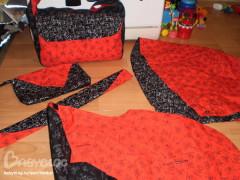 Как сшить платье парео: выкройка платья в стиле бандо. .  - Фото-прайслист - купальники 2013 - Персональный сайт.
