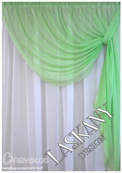 Как сшить шторы из вуали своими руками