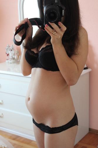 Как выглядит живот на 18 неделе беременности фото